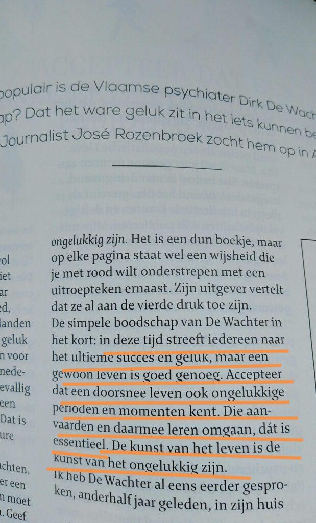 interview Dirk De Wachter